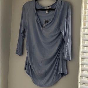 Baby Blue cotton top new with tags